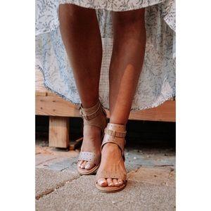 NWOT Böhme Ankle Studded Sandals